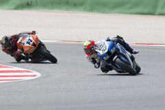 SUPERSPORT FIM World Championship - Results Free Practice 3rd Se Stock Photos