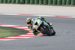 SUPERSPORT FIM World Championship - Results Free Practice 3rd Se Stock Photography