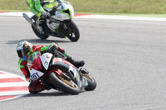 SUPERSPORT FIM World Championship - Results Free Practice 3rd Se Royalty Free Stock Images
