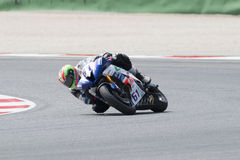 SUPERSPORT FIM World Championship - Results Free Practice 3rd Se Stock Images