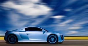 Supersportauto Lizenzfreies Stockfoto