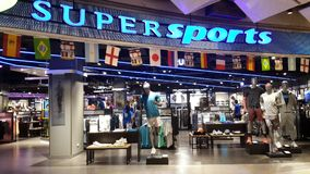 Supersports store at CentralWorld in Bangkok Royalty Free Stock Photo