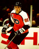 Superstar d'Eric Lindros Philadelphia Photos libres de droits