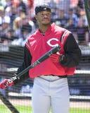 Superstar Ken Griffey, JR de Cincinnati Reds Photos stock