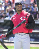 Superstar Ken Griffey, junior di Cincinnati Reds Fotografie Stock