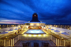 Superster Gemini Cruise Ship Royalty-vrije Stock Afbeeldingen