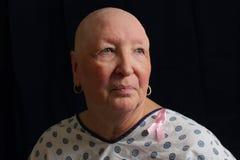 Superstite del cancro della mammella Immagini Stock Libere da Diritti