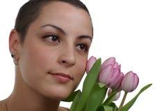 Superstite del cancro della mammella Fotografia Stock