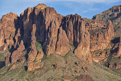 Superstitiion Mountains Royalty Free Stock Images