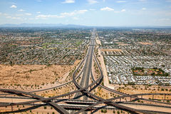 Superstition Freeway Royalty Free Stock Photography