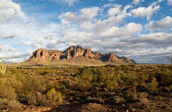 Superstition Mountain Stock Images