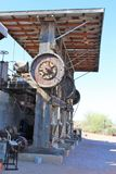 Superstition Mountain Museum. Cossak 20-Stamp Ore Mill at the Superstition Mountain Lost Dutchman Museum in Apache Junction, Arizona Stock Image