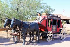 Superstition Mountain Museum Stock Photos