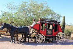 Superstition Mountain Museum Royalty Free Stock Image