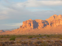 Superstition Mountain Stock Photography