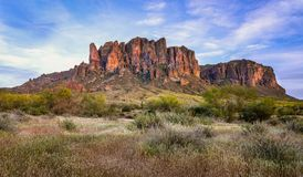 Free Superstition Mountains Royalty Free Stock Photography - 144945177