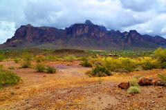 Superstition Mountains Royalty Free Stock Images