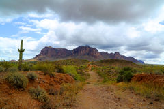Superstition Mountains Royalty Free Stock Photo