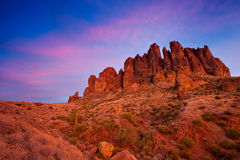 Superstition Mountains, Arizona Royalty Free Stock Photo