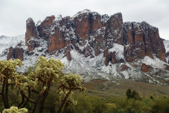 Superstition Mountains Arizona Stock Photos
