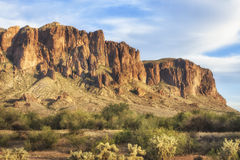 Superstition Mountains, Arizona Stock Photos