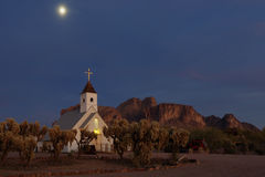 Superstition Mountains Stock Images