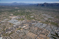 Superstition Mountains/Four Peaks Royalty Free Stock Photography