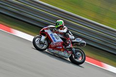 Superstock Ducati Team Althea Giugliano Monza royalty free stock photography