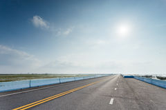 superstrada Fotografia Stock