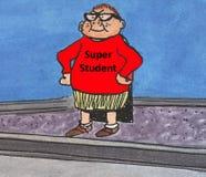 Superstudent Lizenzfreies Stockfoto