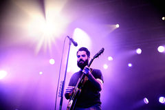 Supersubmarina (band) in concert at Razzmatazz club Stock Photography
