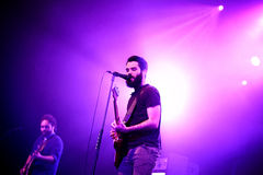 Supersubmarina (band) in concert at Razzmatazz club Royalty Free Stock Photo