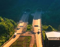 Supersur road infrastructure. Near Bilbao stock images