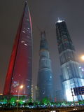 Supertall Towers, the Tallest in Shanghai Royalty Free Stock Photography