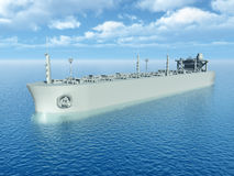 Supertanker Stock Image