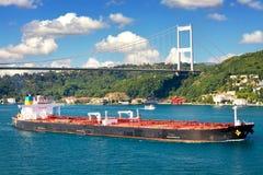 Supertankfartyg Arkivfoto