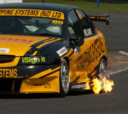 Supertourers V8 bil Racing Royaltyfri Bild