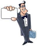 Supervertreter (Super-Held) Lizenzfreie Stockfotos