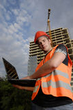 Superviseur de construction Photographie stock