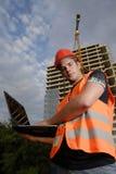 Superviseur de construction Photographie stock