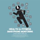 Supervisión de Smartphone de la salud y de la aptitud