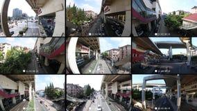 Supervisión las veinticuatro horas del día almacen de metraje de vídeo