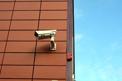 Supervision camera Royalty Free Stock Image