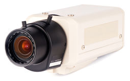 Supervision camera isometric view Stock Photo
