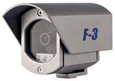 Supervision video camera isolated Stock Images