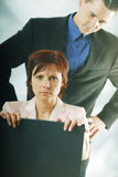 A supervision in the work Stock Photos