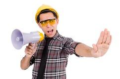 Supervisor da construção Fotos de Stock