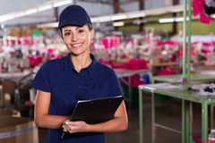 Supervisor production area Royalty Free Stock Images
