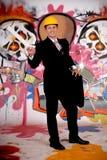 Supervisor urban graffiti Stock Photo