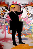 Supervisor urban graffiti Stock Photography